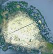 големия остров в Дуранкулашкото езеро